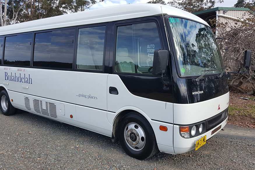 Bulahdelah mini bus hire