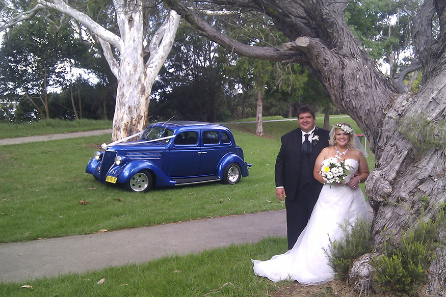 Hot Rods wedding car hire