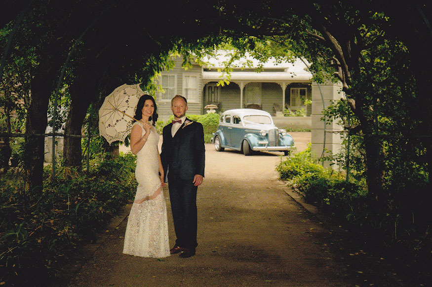 luxury Hot Rods wedding car hire