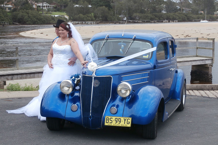 nostalgic wedding car hire